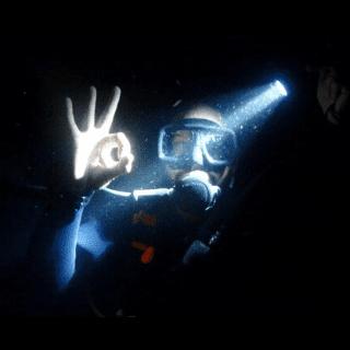 padi night diver Poseidon Dive Center PADI