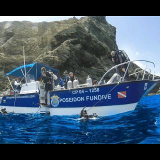 padi boat diver specialty Poseidon Dive Center PADI