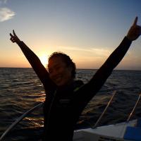 night dive Poseidon Dive Center PADI