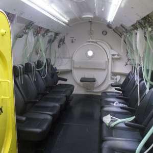 Hyperbaric chamber santa marta