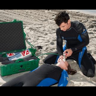 emergency oxygen poseidon dive center padi